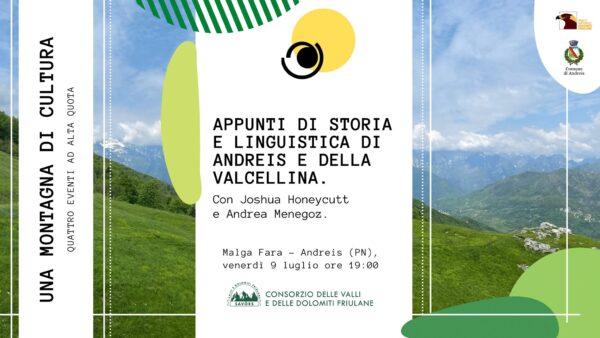 Appunti di storia e linguistica di Andreis e della Valcellina